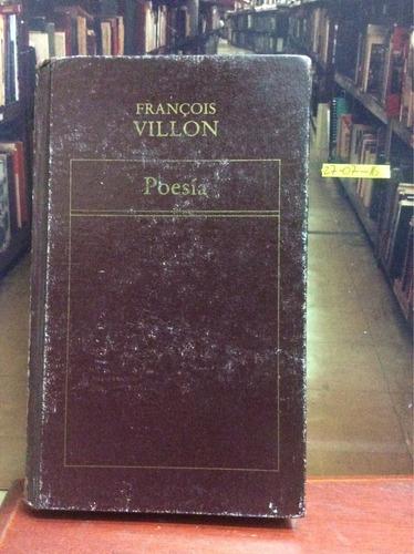 poesía - françois villon.