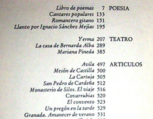 poesia teatro articulos i federico garcia lorca