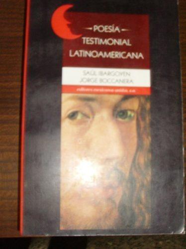 poesia testimonial latinoamericana ibargoyen- boccanera