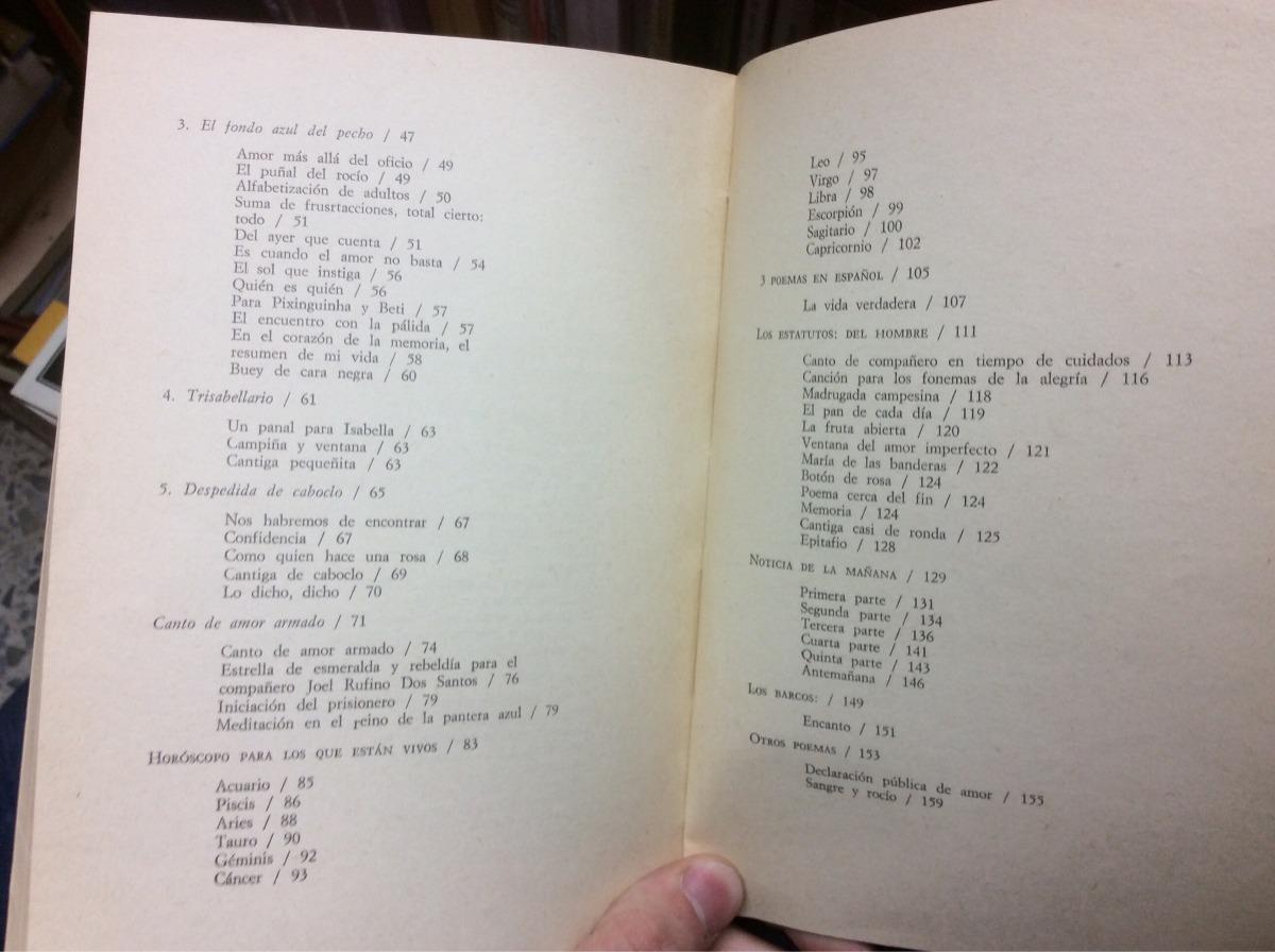 Poesía Thiago De Mello Casa De Las Américas Cuba 1980