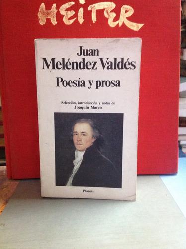 poesía y prosa-juan meléndez valdésvaldes