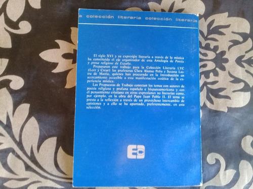 poesía y prosa religiosa de españa antología - colihue