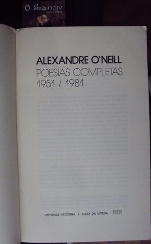 poesias completas 1951/1981 - alexandre o' neill