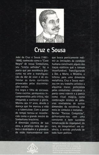 poesias completas - cruz e sousa  - pague com cartão