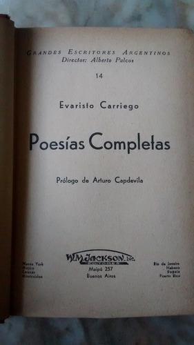 poesias completas evaristo carriego jackson