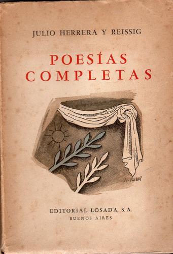 poesías completas - julio herrera y reissig
