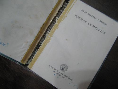 poesias completas. julio herrera y reissig