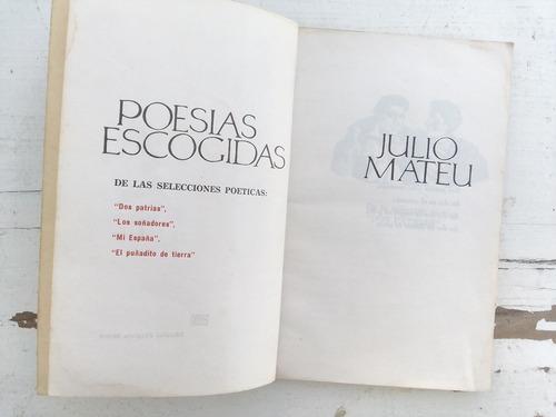 poesías escogidas - julio mateu