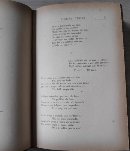 poesias líricas - luiz delfino - 1ª edição