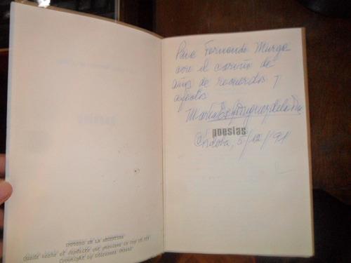 poesias maria esther rodriguez de la torre firmado 1974