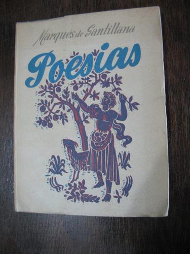 poesías, marqués de santillana
