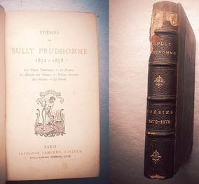 Poésies De Sully Prudhomme 1872 1878 Paris 1879