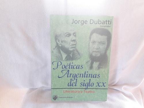 poeticas argentinas sg xx ed. de belgrano