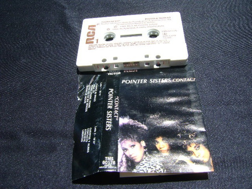 pointer sisters - contact * cassette