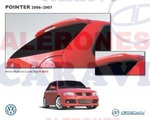 pointer spoiler cajuela modelos 2006 en adelante con stop