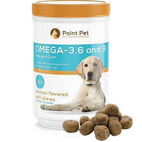42d73b46549 Pointpet Omega 3 6 9 Aceite De Pescado Para Perros Todos Los -   177.990 en  Mercado Libre