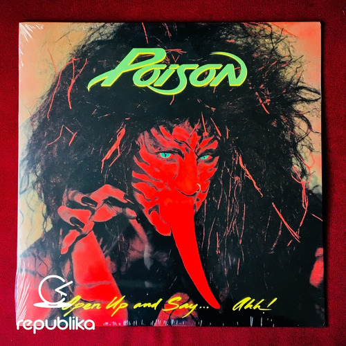 poison - open up and say... ahh! - lp nuevo 30th ann ed. usa