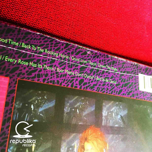 poison - open up and say... ahh! - lp nuevo 30th anniversary