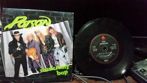 poison unskinny bop vinilo maxi single uk 7