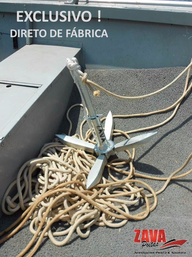 poita articulada zava 7 kg (âncora p barco)  somos fabrica