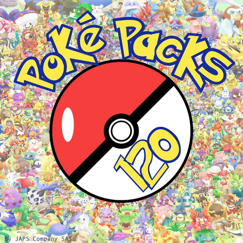 poké packs diamante 3ds (120 pokémon) + regalos