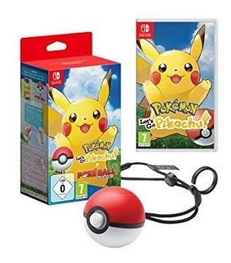 pokeball plus + pokemon lets go pikachu para nintendo switch