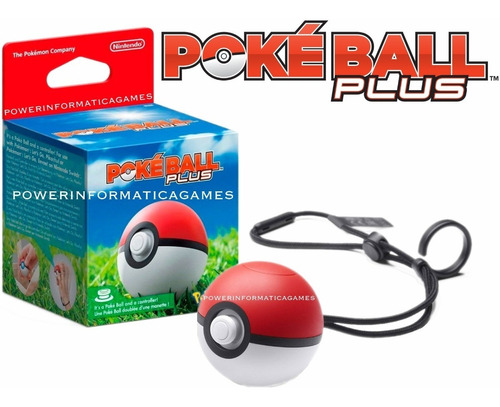 pokeball plus pokemon let's go switch nova lacrada original