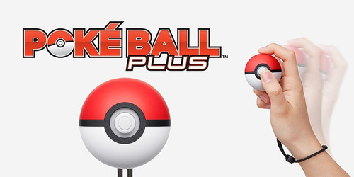 pokeball pokebola plus pokemon lets go pikachu y eevee nuevo
