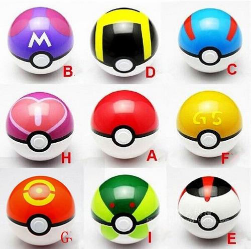 pokebola 7cm + pokemon random pokeball pokemon go