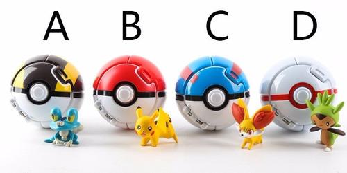 pokebola (pode jogar) pokemon pikachu ash festa  a012