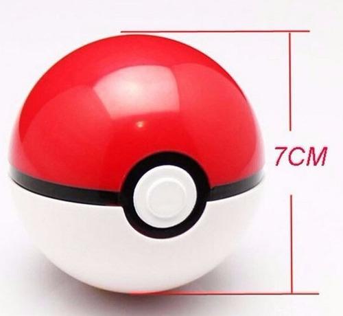 pokebola pokemon tamanho original 7 cm ash dragonite xy