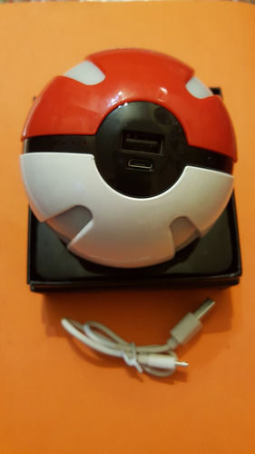 pokebola power bank 10000 mah