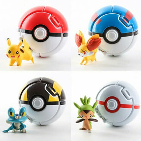 Pokebolas Armables Con Pokemon De Regalo