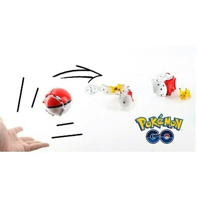 pokebolas originales/ tomy/ pokebolas armables/ pokemon