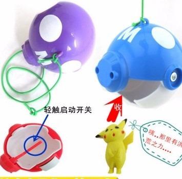 pokebolas resistentes captura pokemon en  6 colores