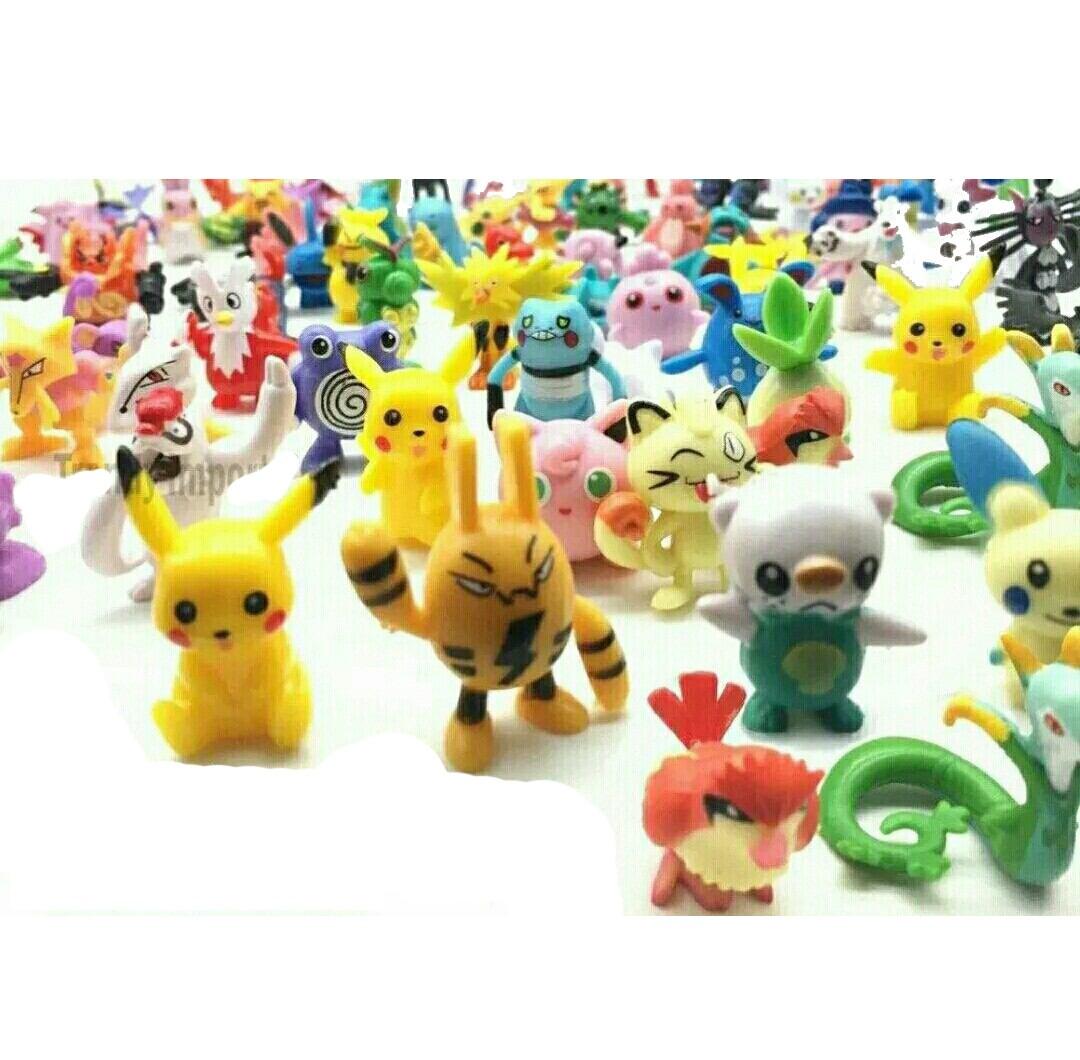 Pokemon 144 Figuras Lote Env 237 O Gratis Azar Juguetes Go 649 00 En Mercado Libre