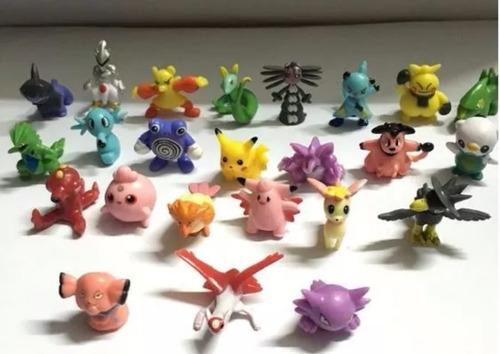pokemon 2-3 cm pvc x 50 unidades sin repetir