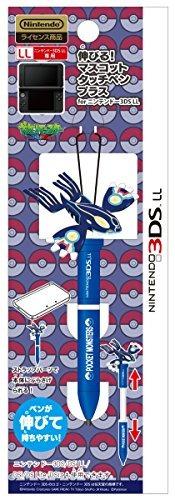 pokemon 3ds xl kygore primal x extender táctil pluma figura