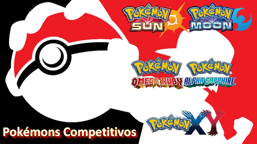 pokémon 3ds xy, oras, sun e moon 6 ivs competitivos
