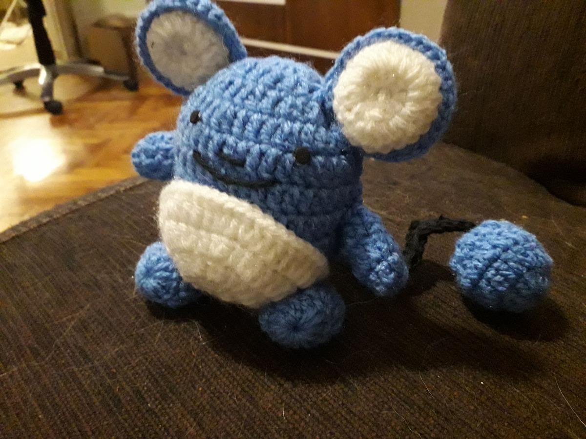 Marill Pokemon Amigurumi Free Crochet Pattern   DailyCrochetIdeas   900x1200