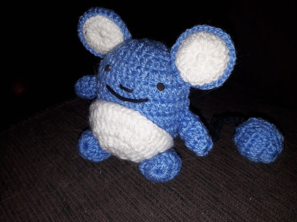 Ravelry: Marill Pokemon Amigurumi pattern by Catarina Bastos | 900x1200