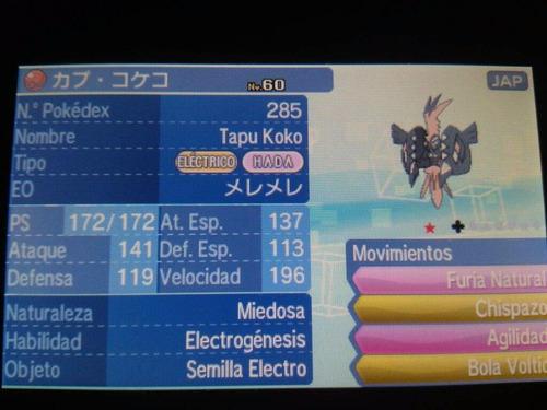 pokemon a pedido 15 x $500 (sm, xy, oras)