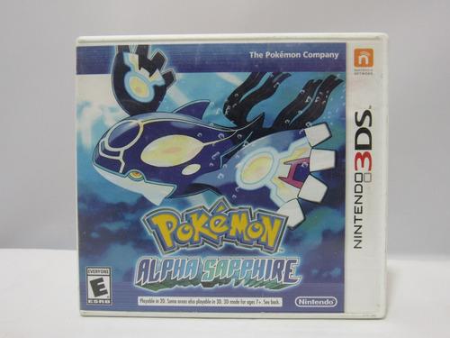 pokémon: alpha sapphire - nintendo 3ds ¡fisico-usado!