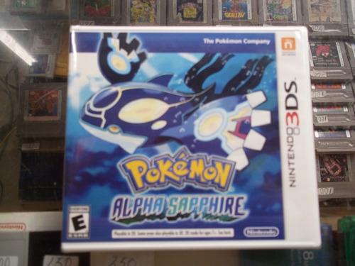 pokemon alpha sapphire nintendo 3ds nuevo