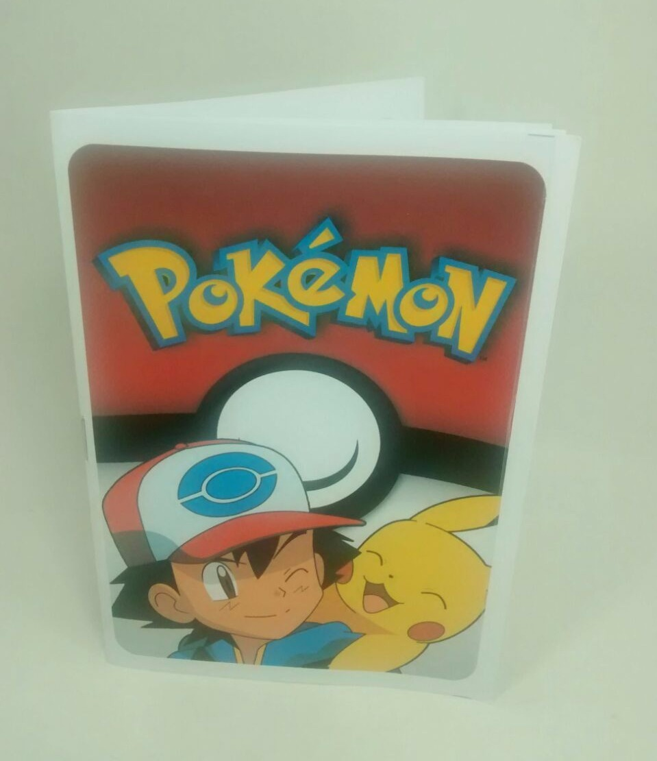 Pokemon - Ash Y Pikachu - Libritos Para Pintar (pack X40) - $ 359,96 ...