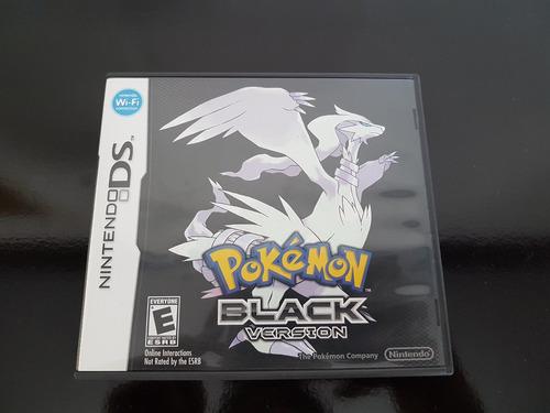 pokémon black de nintendo ds (u) completo impecável