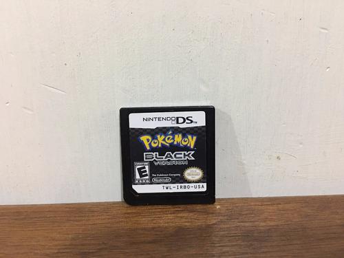 pokemon black version para nintendo ds  animate