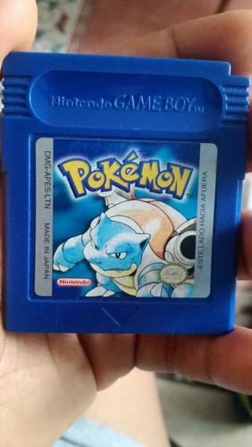 pokémon blue en español para game boy color.