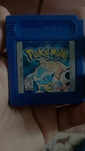 pokemon blue para game boy color en inglés .