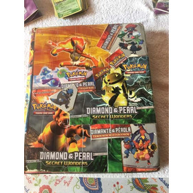 Pokémon Card 34 Holográficas  Mais  500 Comuns  2 Posters